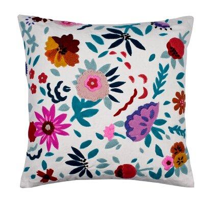Eden Pillow Cover Color: White/Multi