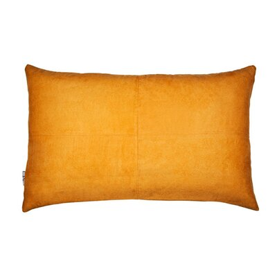 Montana Pillow Cover Size: 11.02 H x 18.33 W x 0.39 D, Color: Oranged Yellow