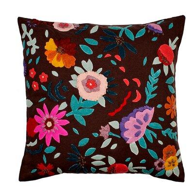 Eden Pillow Cover Color: Gray/Multi