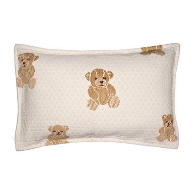 Ourson Pillow Cover Color: Light Beige, Size: 17.72 H x 27.3 W x 0.39 D