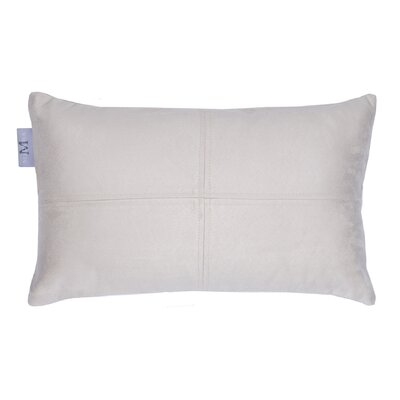 Montana Pillow Cover Size: 17.72 H x 27.3 W x 0.39 D, Color: Off White