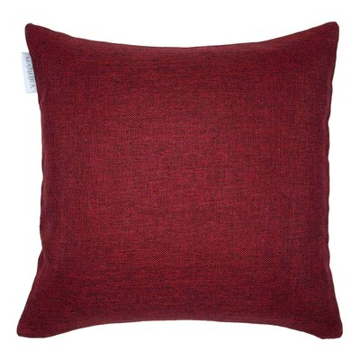 Cinnamon Pillow Cover Color: Burgundy