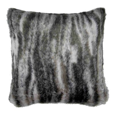 Kittila Pillow Cover Size: 15.6 H x 15.75 W x 0.39 D, Color: Gray