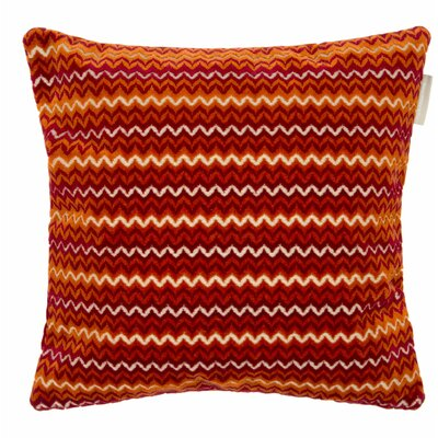 Rambagh Pillow Cover Color: Burgundy