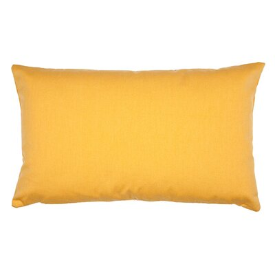 Lounge Pillow Cover Color: Yellow Gold