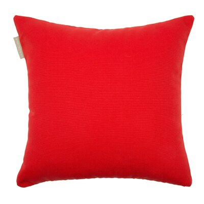 Outdoor Pillow Cover Color: Salmony/Orange, Size: 23.4 H x 23.62 W x 0.39 D