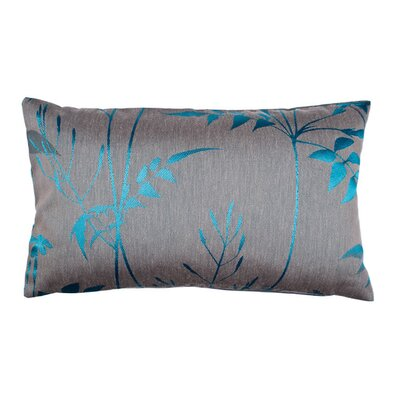 Silhouette Pillow Cover Color: Blue