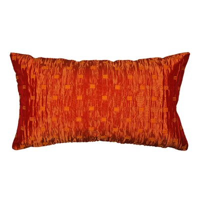 Frost Pillow Cover Color: Orange