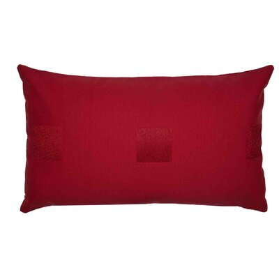 Mahe Pillow Cover Color: Bright Red