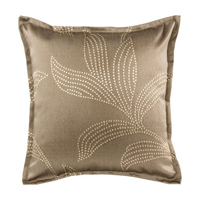 Palmyre Pillow Cover Color: Dark Brown