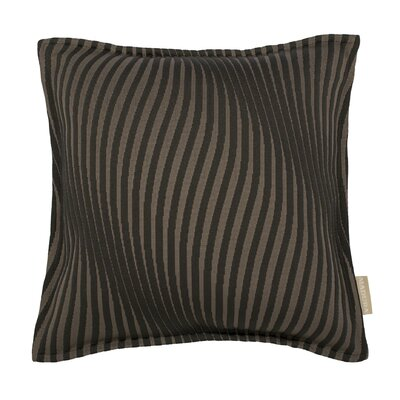 Infinity Pillow Cover Color: Dark Gray