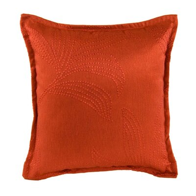 Palmyre Pillow Cover Color: Bright Red