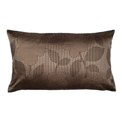 Ginza Pillow Cover Size: 17.72 H x 27.56 W x 0.39 D, Color: Dark Brown