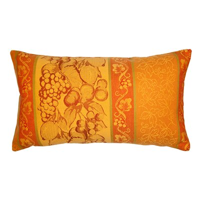 Agapes Pillow Cover Color: Dark Yellow