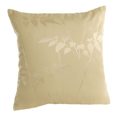 Silhouette Pillow Cover Color: Off White