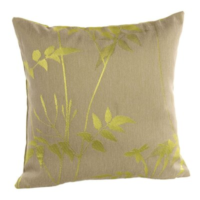 Silhouette Pillow Cover Color: Green