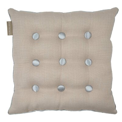 Lina Throw Pillow Color: Natural/Gray