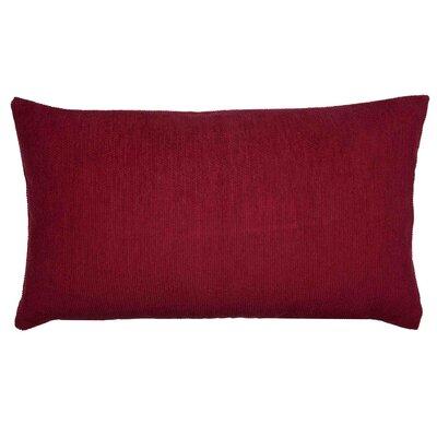 Caviar Pillow Cover Color: Burgundy