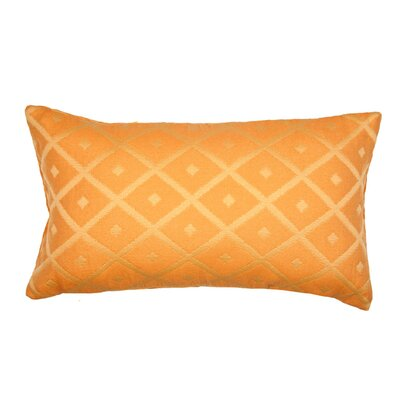 Calisson Pillow Cover Color: Light Orange