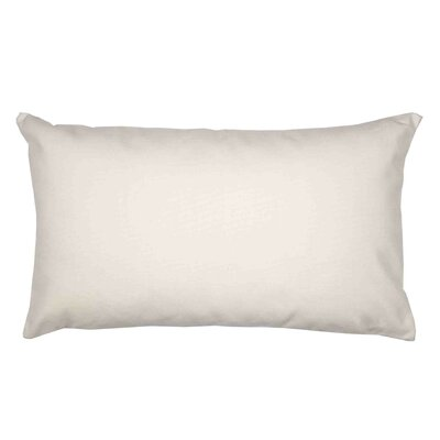 Java Pillow Cover Color: Off White