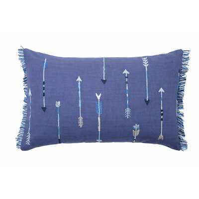 Idaho Pillow Cover Color: Blue/Gray