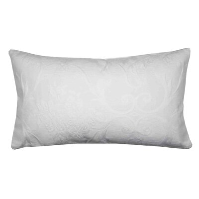 Palace Pillow Cover Size: 11.02 H x 18.33 W x 0.39 D, Color: Off White