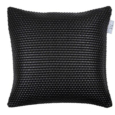 Uruguay Pillow Cover Color: Black