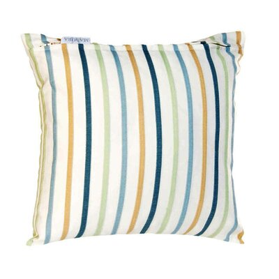 Sunset Pillow Cover Color: Light Blue