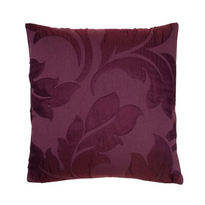 Initiale Pillow Cover Color: Dark Purple
