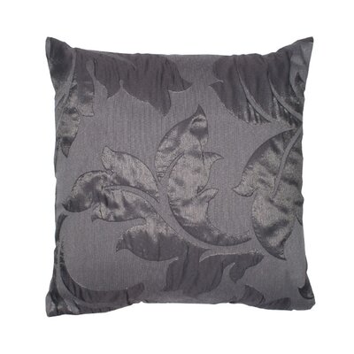 Initiale Pillow Cover Color: Dark Gray