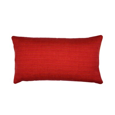 Sequoia Pillow Cover Size: 11.02 H x 18.5 W x 0.39 D, Color: Red Brick
