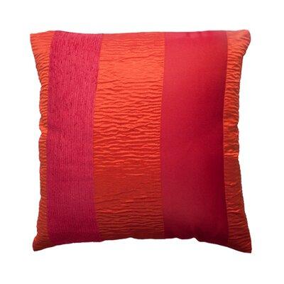Bellagio Pillow Cover Color: Orange Brick