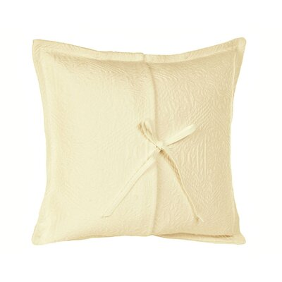 Fanny Pillow Cover Size: 15.75 H x 15.75 W x 0.39 D, Color: Pale Yellow