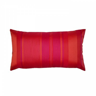 Yukatan Pillow Cover Size: 24.41 H x 24.41 W x 0.39 D, Color: Red