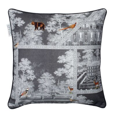 Bellecour Pillowcase Color: Dark Gray