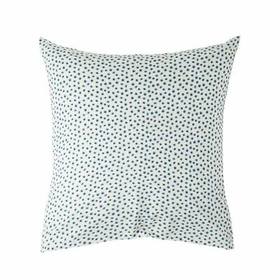 Kiwis Pillow Case Size: 27.56 H x 17.72 W x 0.39 D, Color: Blue/Beige