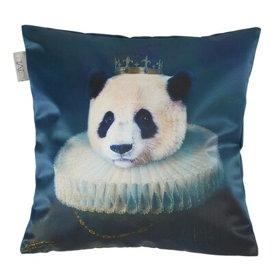 Antique Panda Pillow Cover