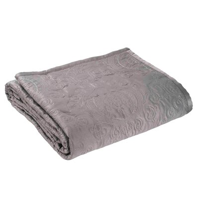 Toscana Quilt Color: Gray