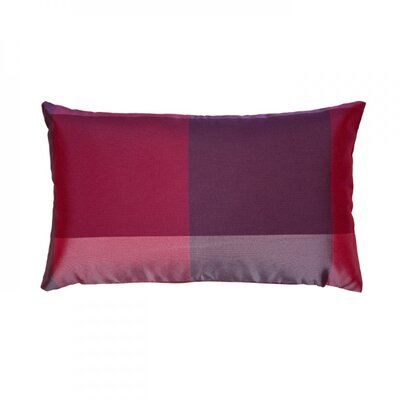 Antigua Pillow Cover Color: Pink, Size: 24.41 H x 24.41 W x 0.39 D