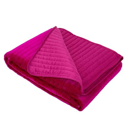 Vend�me Quilt Color: Dark Purple