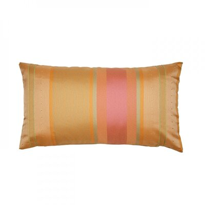 Yukatan Pillow Cover Size: 24.41 H x 24.41 W x 0.39 D, Color: Orange Brick