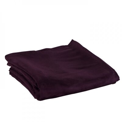 Montana Throw Color: Dark Purple