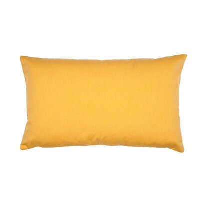 Lounge Pillow Cover Size: 24.18 H x 24.41 W x 0.39 D, Color: Yellow Gold