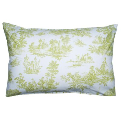 Anjou Pillow Cover Color: Green Yellow