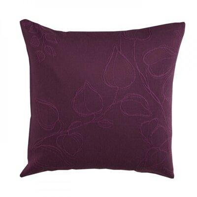 Virginia Pillow Cover Color: Dark Purple