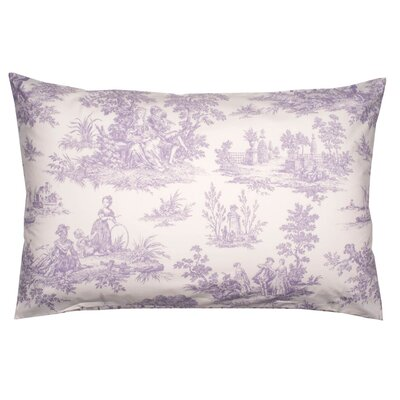 Anjou Pillow Cover Color: Dark Purple