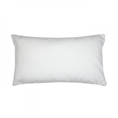 Panama Pillow Cover Color: White
