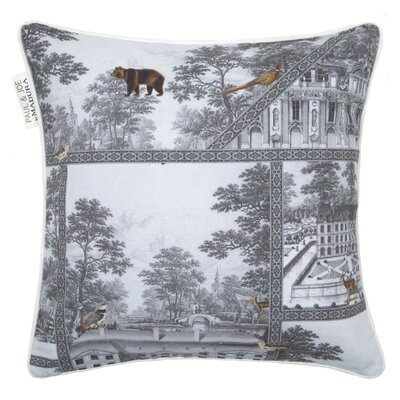 Bellecour Pillowcase Color: White/Gray