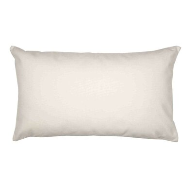 Java Pillow Cover Size: 24.18 H x 24.41 W x 0.39 D, Color: Off White