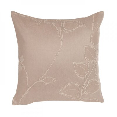 Virginia Pillow Cover Color: Light Beige